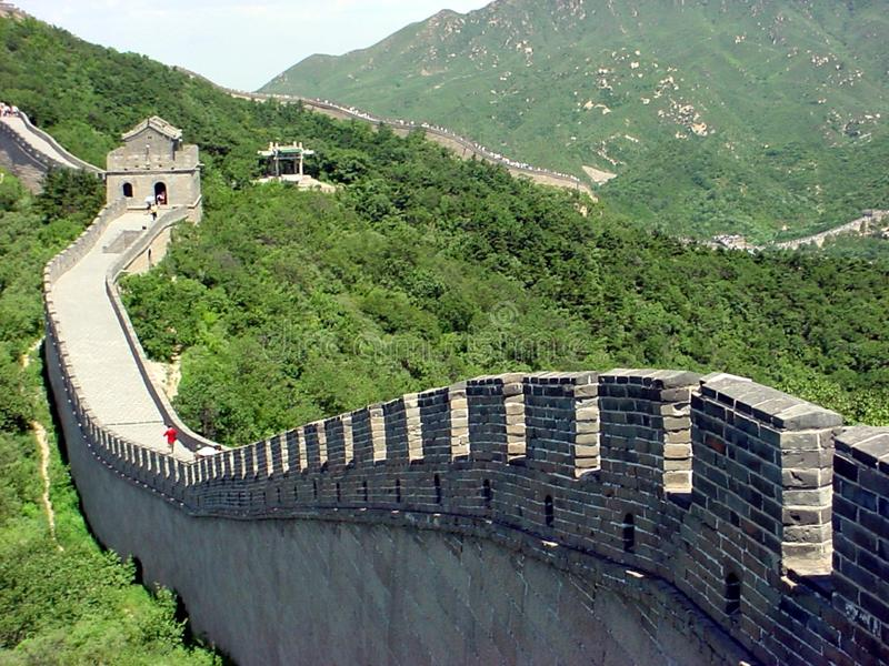 Grande Muralha - Great Wall stock photography