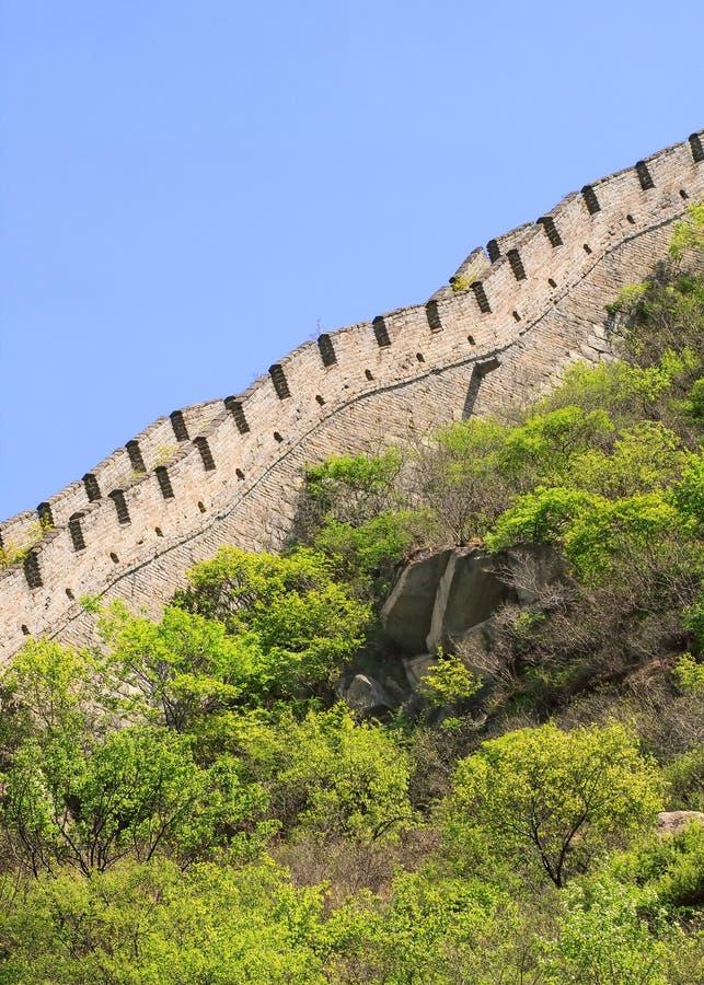 Grande Muralha magnífico, ponto de turista famoso, Pequim, China imagens de stock royalty free
