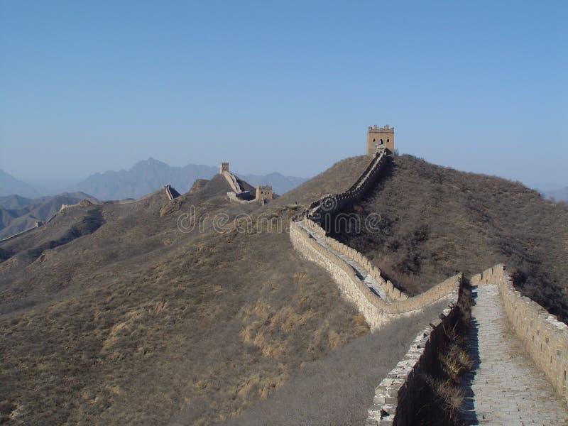 Grande Muralha. Simatai imagens de stock