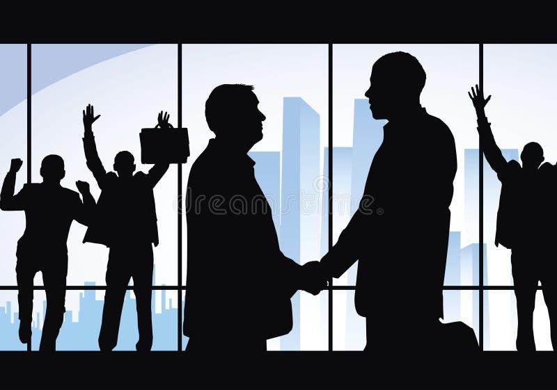 Grande negócio! ilustração do vetor