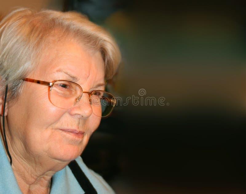 Grande - nonna immagini stock libere da diritti