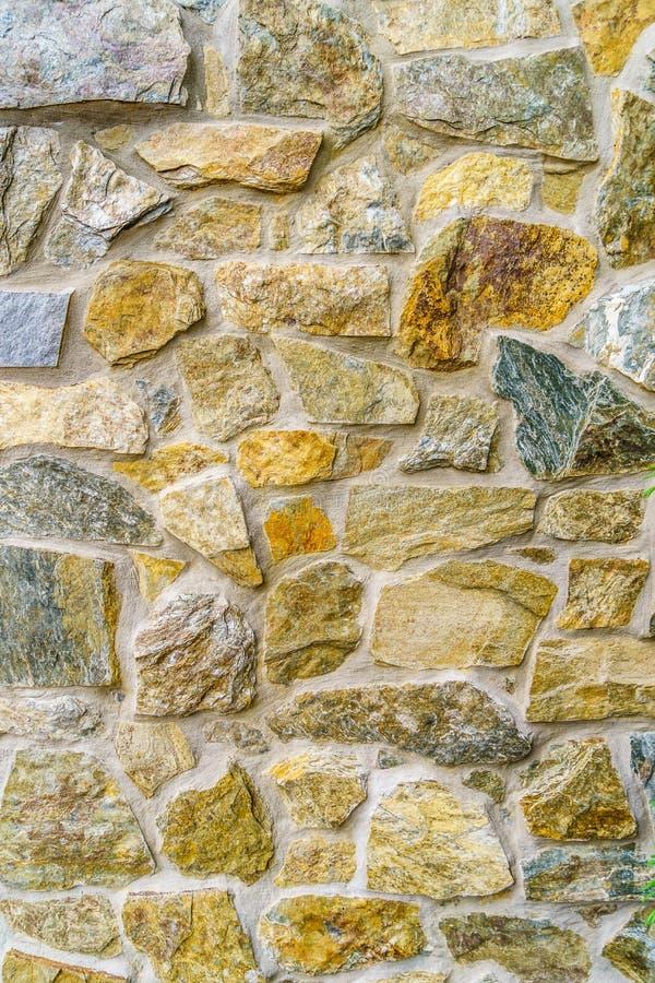 Grande paese di Amish del fondo della parete di pietra fotografie stock