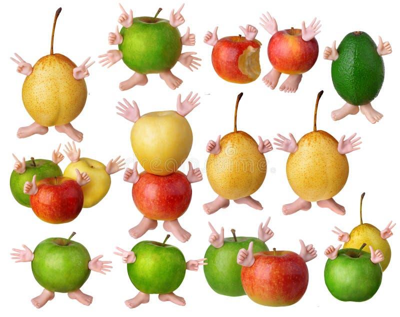 Grande page des fruits images libres de droits