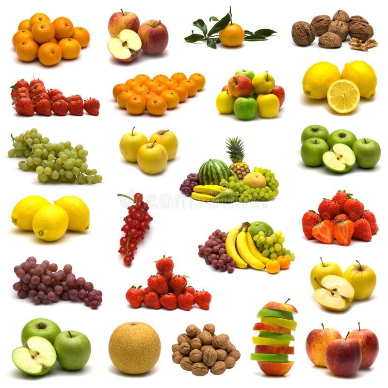 Grande pagina della frutta fotografia stock libera da diritti
