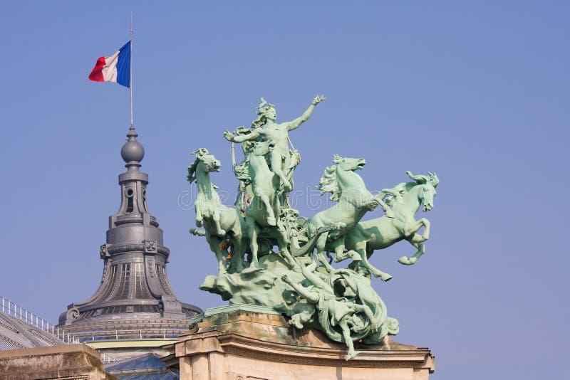 Grande Palais a Parigi immagini stock libere da diritti