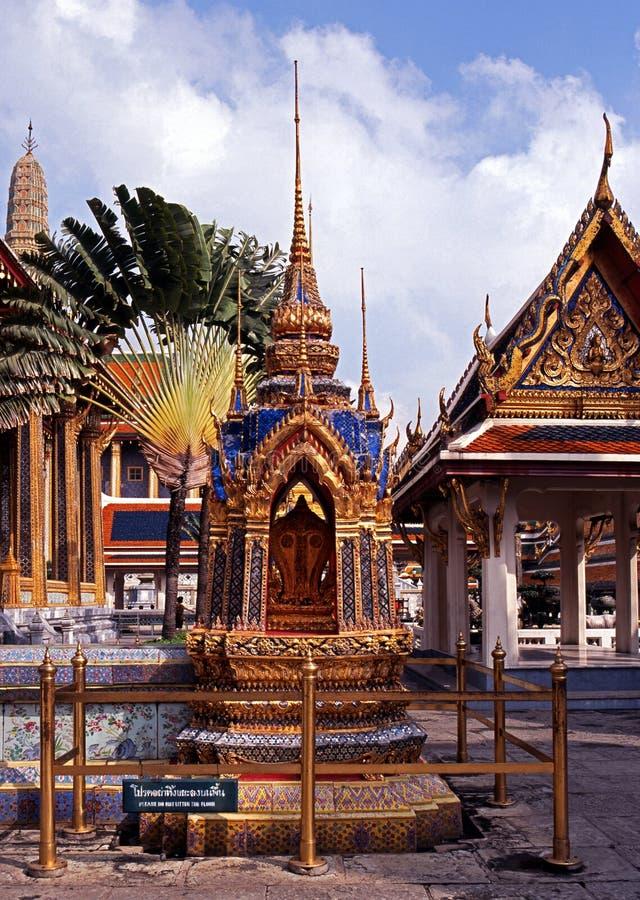 Grande palazzo, Bankkok, Tailandia. immagine stock libera da diritti