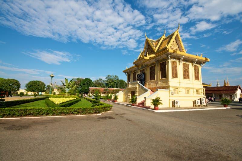 Grande palazzo, Cambogia immagine stock libera da diritti