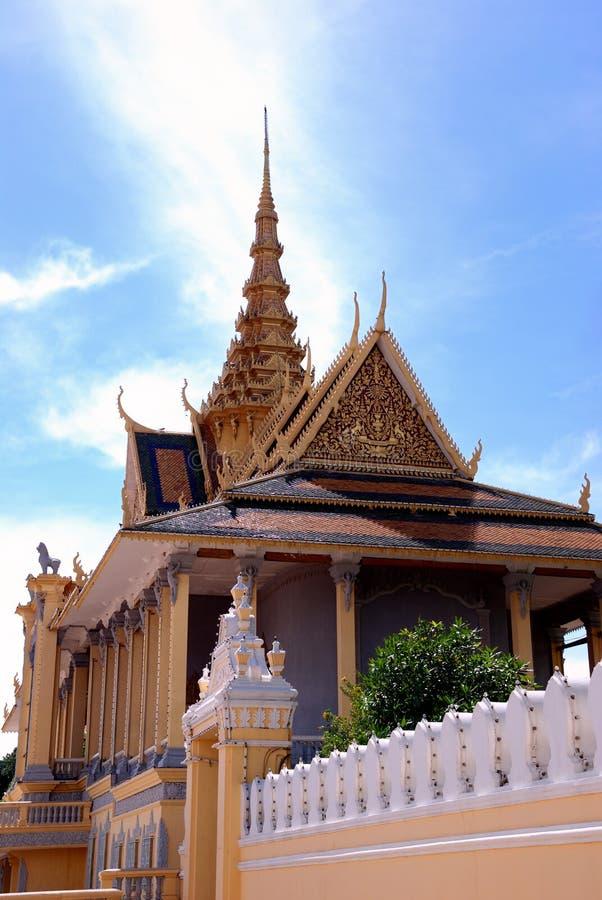 Grande palazzo della Cambogia fotografia stock