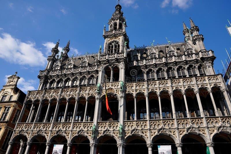 Grande palazzo di Bruxelles immagine stock libera da diritti