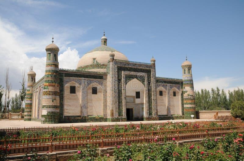 Grande palazzo islamico della tomba di prosa immagine stock libera da diritti