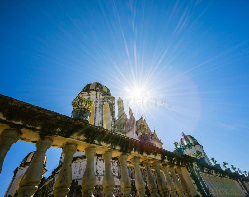 Grande palazzo in khao wang fotografia stock