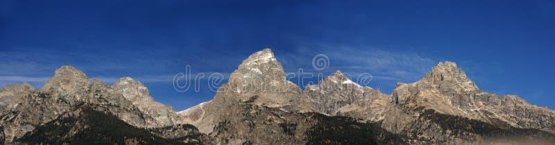 Grande panorama di Teton fotografia stock