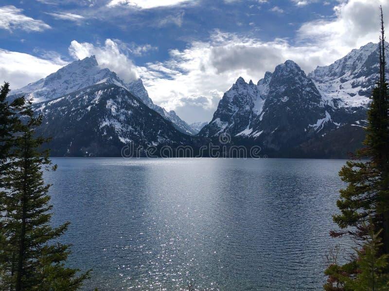 Grande parco nazionale Wyoming di Tetons immagini stock