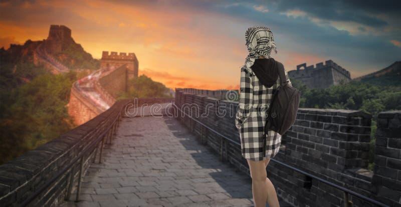 Grande parede chinesa imagens de stock royalty free