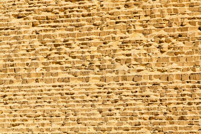 Grande parete della piramide fotografia stock libera da diritti