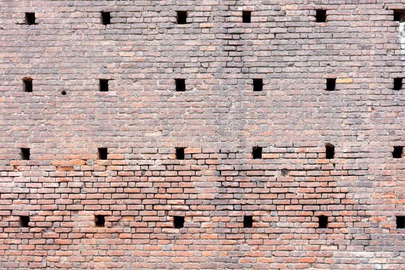 Grande parete fatta degli adobi fotografia stock libera da diritti