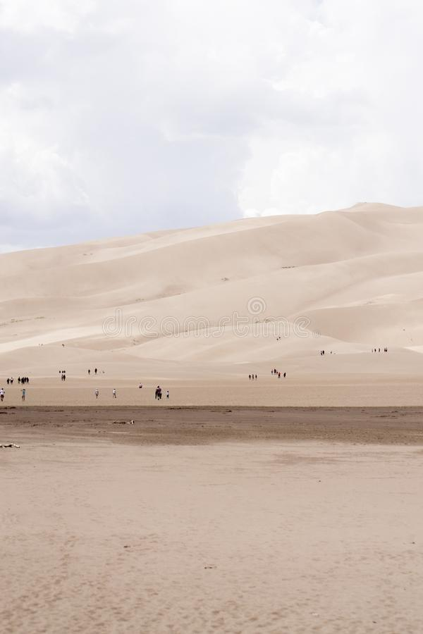 Grande parque nacional de dunas de areia foto de stock