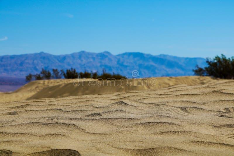 Grande parque nacional no dia, Colorado de duna de areia, EUA imagens de stock