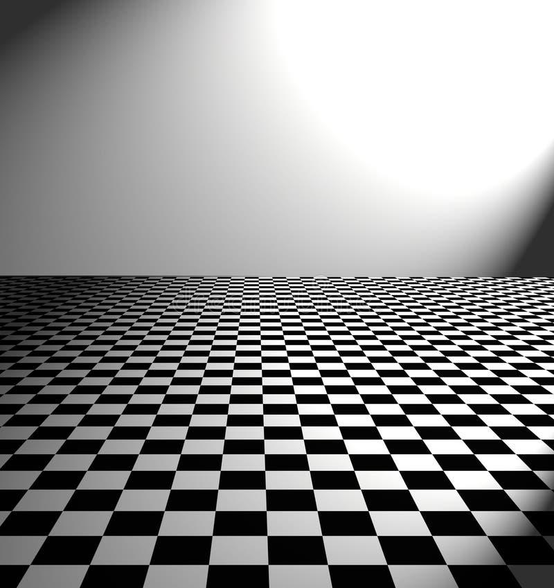 Grande pavimento in bianco e nero dell 39 ispettore for Pavimento bianco e nero