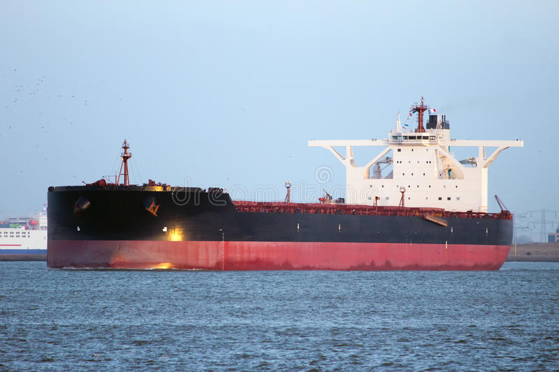 Grande petroliera immagini stock