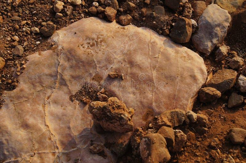 Grande pierre en Crimée photos stock