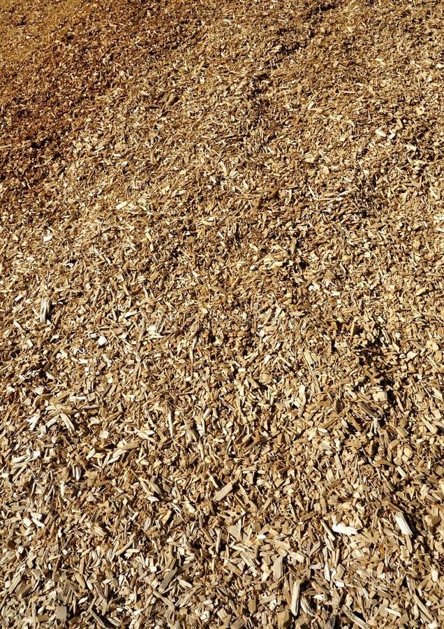 Grande pile des déchets de bois images libres de droits
