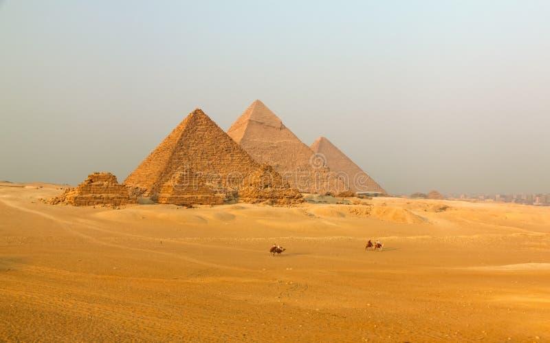 Grande pirâmide fotografia de stock royalty free