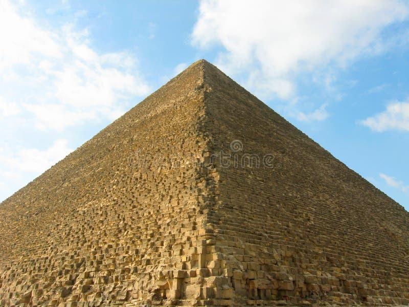 A grande pirâmide de Giza ilustração stock
