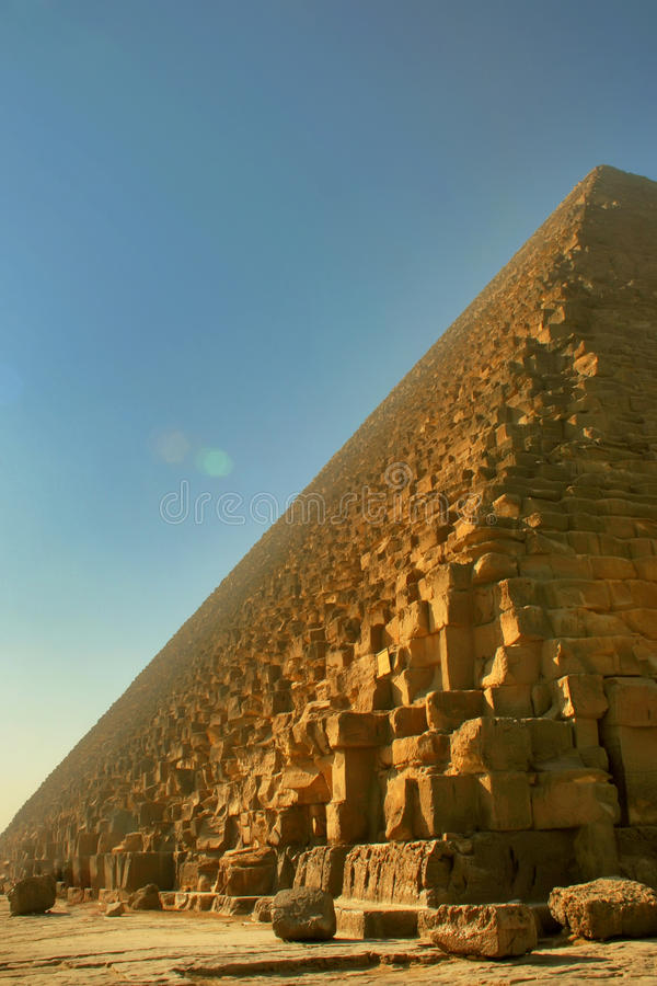 Grande pirâmide de Giza, Egipto imagens de stock royalty free