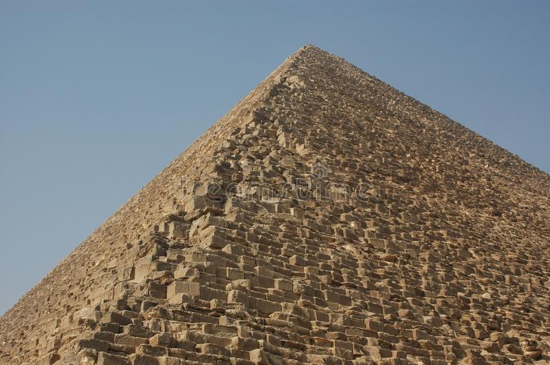 A grande pirâmide de Giza Egito fotos de stock