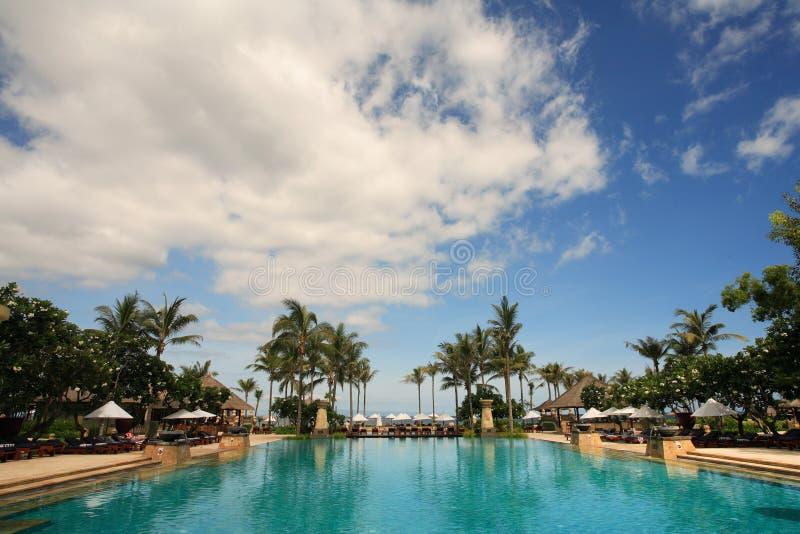 Grande piscina immagine stock