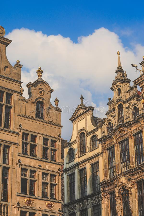 Grande Place, Grote Markt, Brussels, Belgium, Europe royalty free stock photos