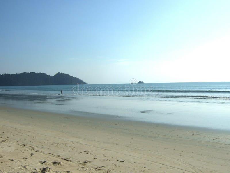 Grande plage @ photos libres de droits
