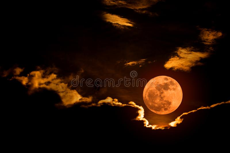 Grande pleine lune photos stock
