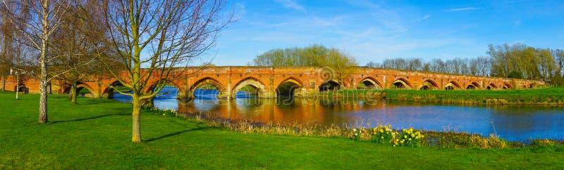 Grande ponte de Barford imagem de stock royalty free