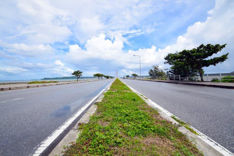 Grande ponte di Okinawa Japan fotografia stock