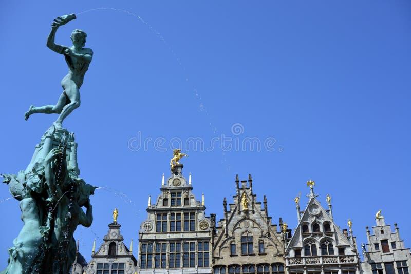 Grande posto a Anversa immagini stock libere da diritti