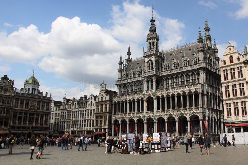 Grande posto a Bruxelles immagini stock