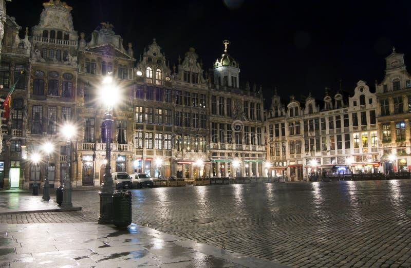 Grande posto, Bruxelles immagine stock libera da diritti