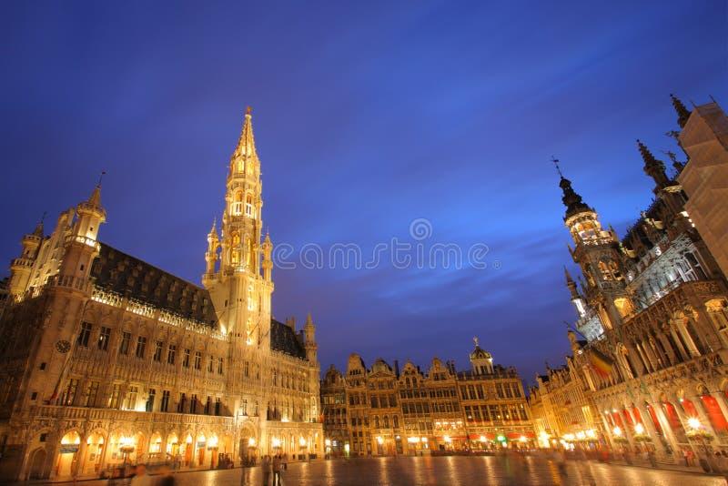 Grande posto, Bruxelles fotografie stock libere da diritti