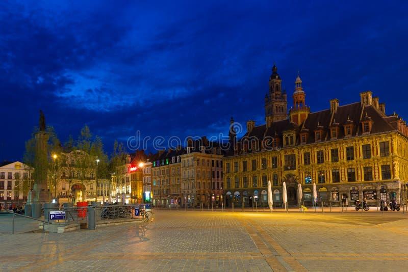 Grande posto a Lille immagine stock libera da diritti
