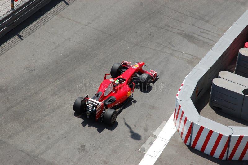 Grande Prix Monaco 2009, Ferrari di Felipe Massa immagine stock