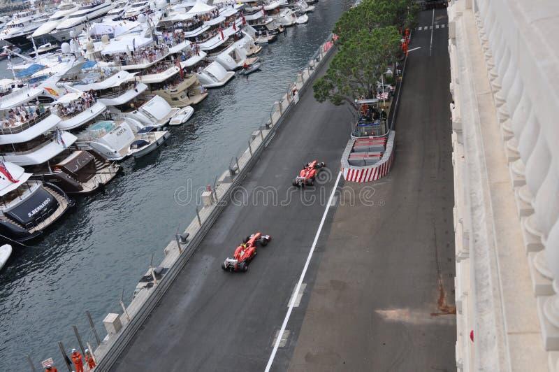 Grande Prix Monaco 2012 - squadra del Ferrari fotografia stock libera da diritti