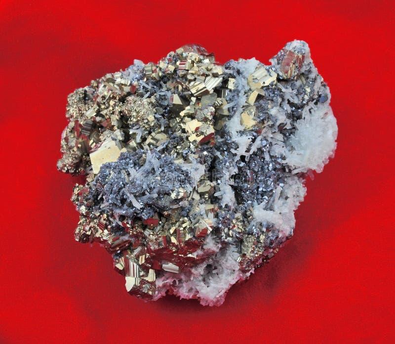 Grande pyrite photo stock