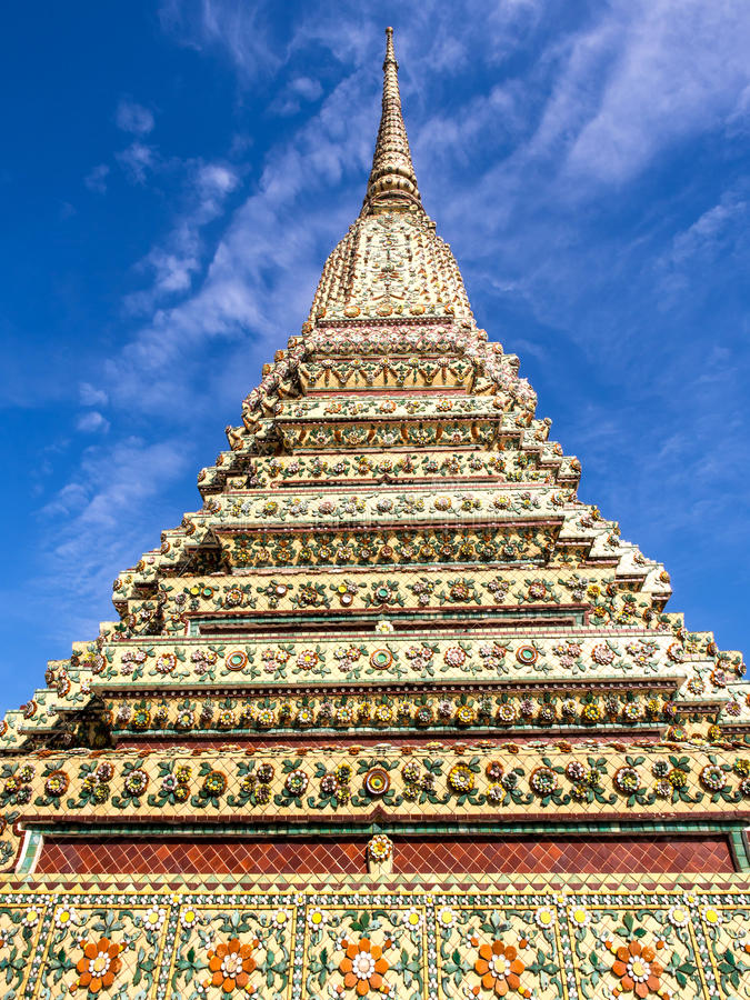 Grande quattro Jedi in Wat Pho fotografie stock