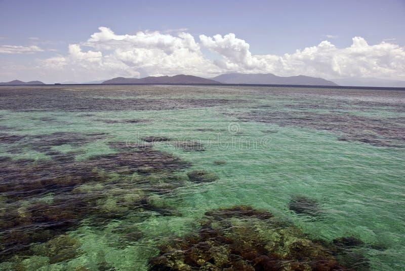 Grande recife de barreira, Austrália fotos de stock royalty free
