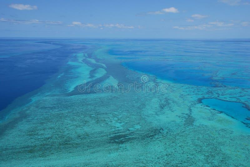 Grande recife de barreira - Austrália fotos de stock royalty free