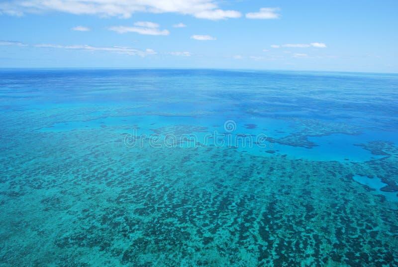 Grande recife de barreira - Austrália fotografia de stock