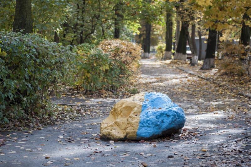Grande roccia del granito immagini stock libere da diritti