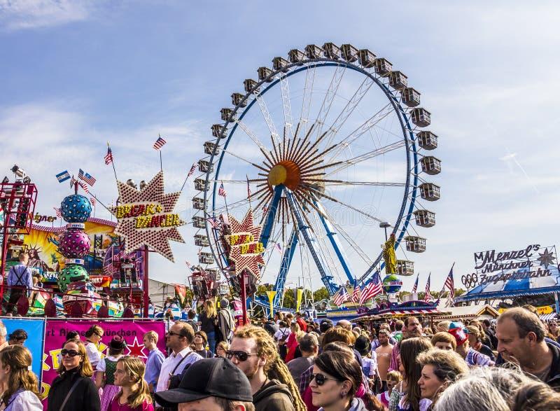 Grande rotella di Ferris fotografie stock libere da diritti